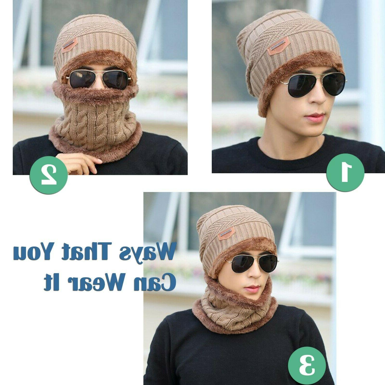 Mens Womens Winter Baggy Slouchy Warm Beanie Hat and Ski Skull