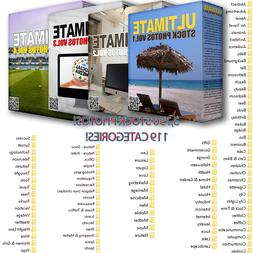 Stock Photos Package Vol 1 - Vol 4 3,750 Files 119 Categorie